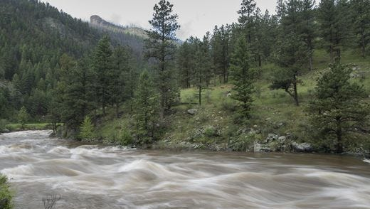The National Weather Service is extending a flood advisory for the Poudre River in Larimer County and Weld County this weekend.