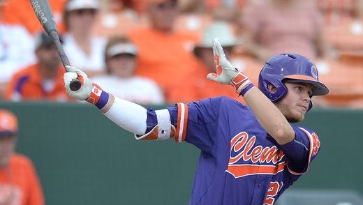 Clemson's Seth Beer will take a 60-game on-base streak into the Tigers' 2017 season.