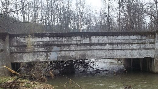 Replacement of the Park Road bridge over the Codorus Creek in Manheim Township starts Monday, according to the state Department of Transportation.