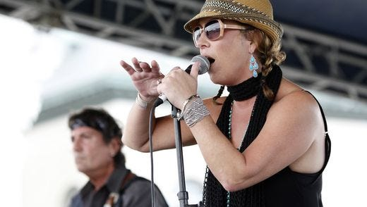 Little T&A were the first band to perform, kicking off the 18th annual Blues, Brews & BBQ festival held at the Louisville Water Tower. Held over three days, the event offers regional BBQ, live music and craft beers tastings. July 10, 2015