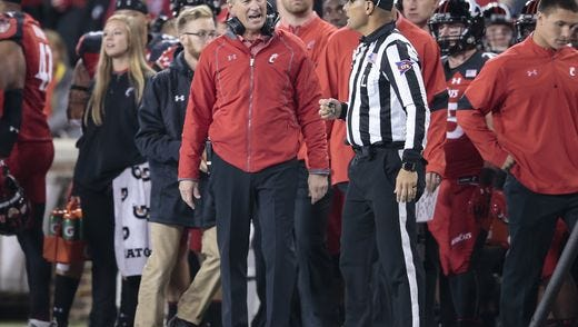 It has been a tough year for UC football coach Tommy Tuberville. 'You're not gonna be good every year,' Tuberville said.