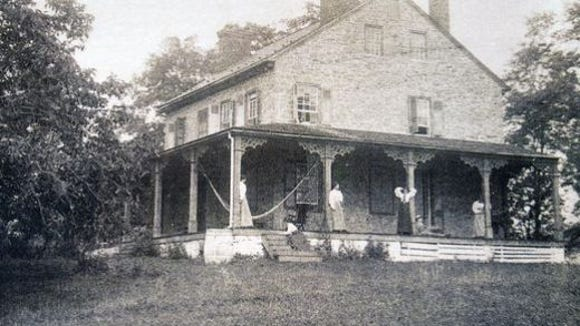 The Mifflin House is seen in this undated photo.