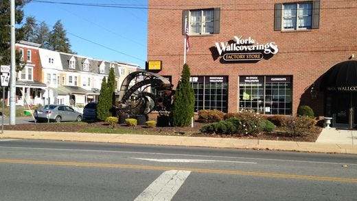 York Wallcoverings is closing its factory store on Carlisle Avenue in York.