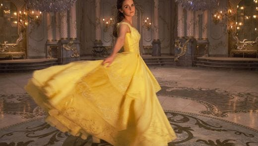 Check out that ball gown.