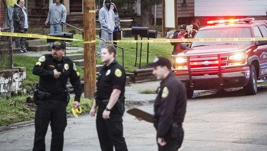 Muncie police continue to investigate a Friday shooting on the city's south side.