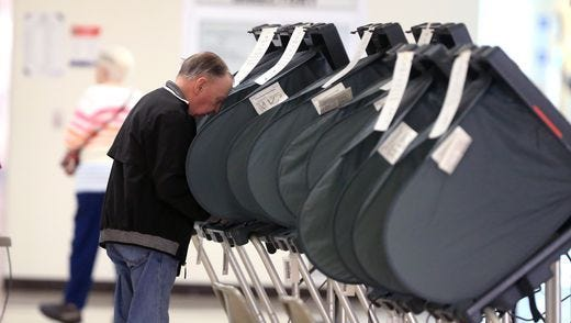 At least 11,000 people had voted in the special election as of Monday evening.