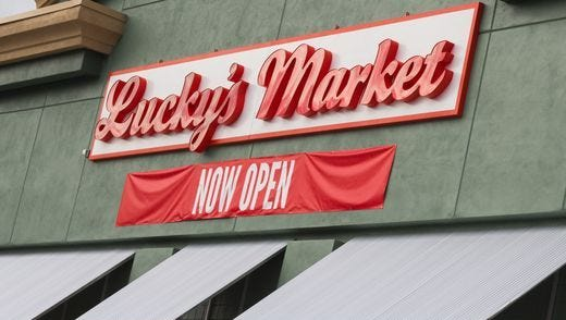 Lucky's Market assisting with the Brevard Schools Foundation