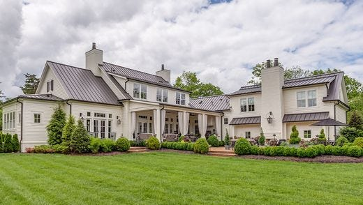 The Forest Hills home, which Roman Josi bought for nearly $2.4 million.