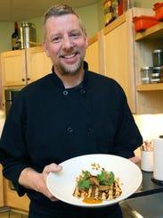 David Swanson of Braise serves goat a variety of ways,