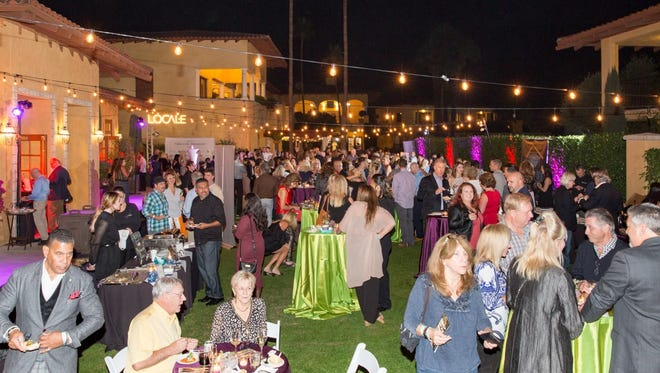 Party goers enjoyed food, fashion and fundraising for FIND Food Bank and Bighorn Behind a Miracle.