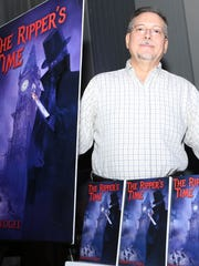 """Mark Vogel shows off his new novel """"The Ripper's Time"""""""