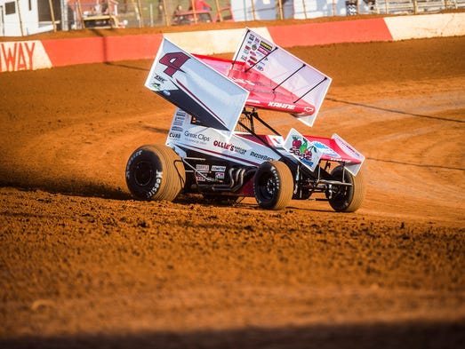 Sprint Car Racing In Hanover