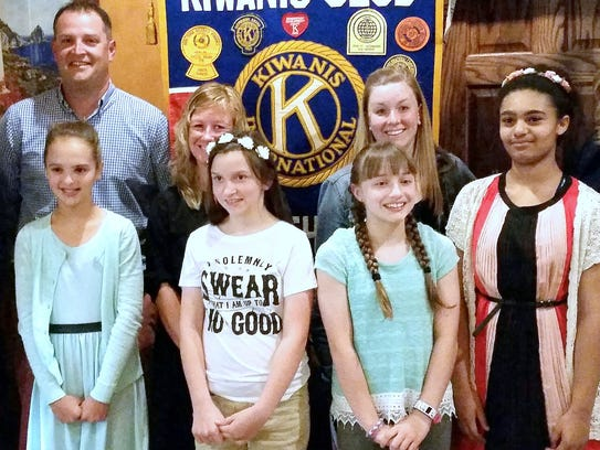 The Horseheads Kiwanis Club recently presented Kiwanis