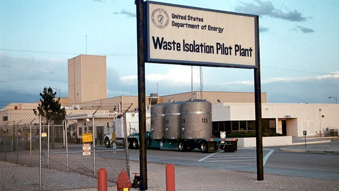 The Waste Isolation Pilot Plant in Carlsbad, NM.