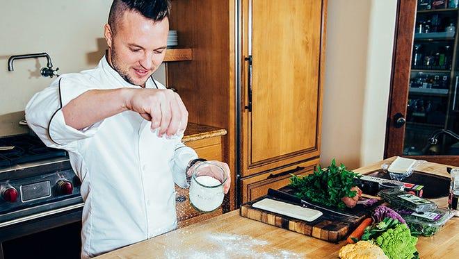 "Local ""MasterChef"" runner-up Derrick Peltz is partnering with a forthcoming Fort Myers restaurant. Compliments of Matfer Bourgeat USA, Professional Kitchen Tools Matter Spotlight with Chef Derrick Peltz; matferbourgeatusa.com"