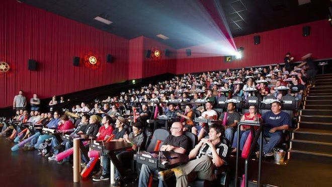 El Paso's Alamo Drafthouse Cinema's eight theaters will look similar to this one in Austin.