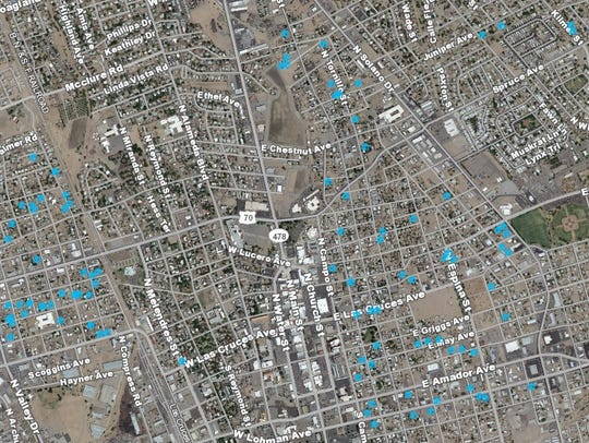 Las Cruces city staff have reviewed dozens of properties