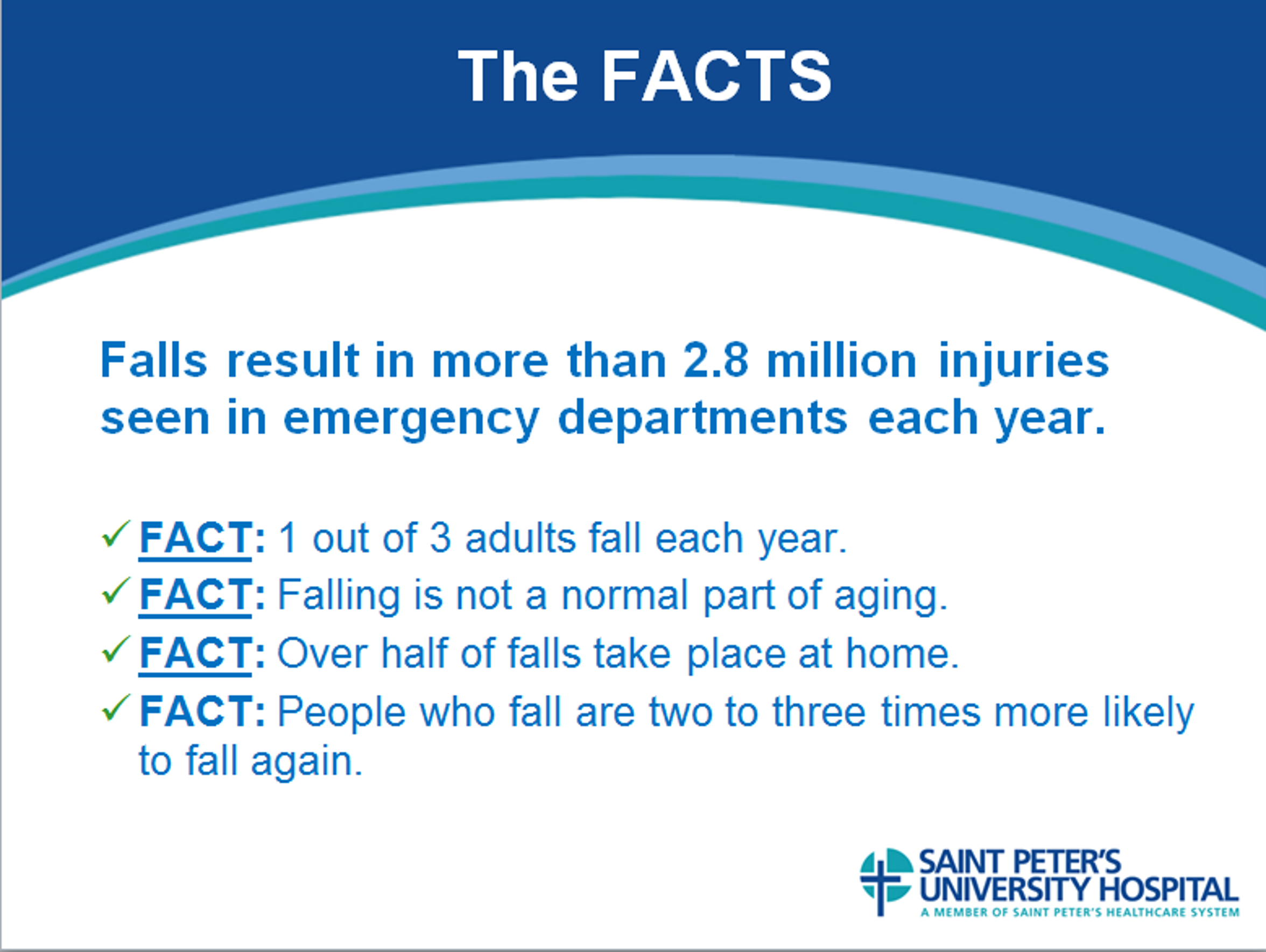 The Facts of Falling