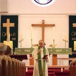Pastor Ronald W. Jones on the eve of his retirement after 14 years in ministry, including 13 at St. Paul Evangelical Luthern Church in Raritan Borough Sunday August 23, 2015