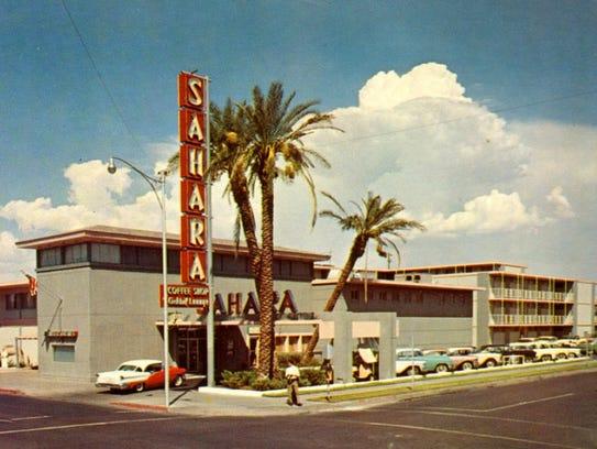 The Sahara Motor Inn opened in 1956 at the corner of