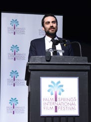 Michael Lerman, artistic director of the Palm Springs International Film Festival, expects people to talk about issues such as sexual harassment and patriarchy throughout the festival.