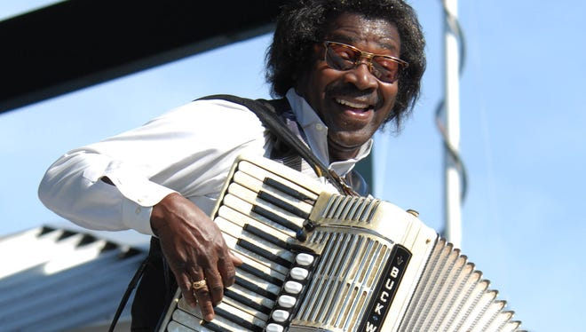 Louisiana Jam, featuring Buckwheat Zydeco, Steve Riley and Lil Buck Sinegal, highlight the spring series of Music & Market