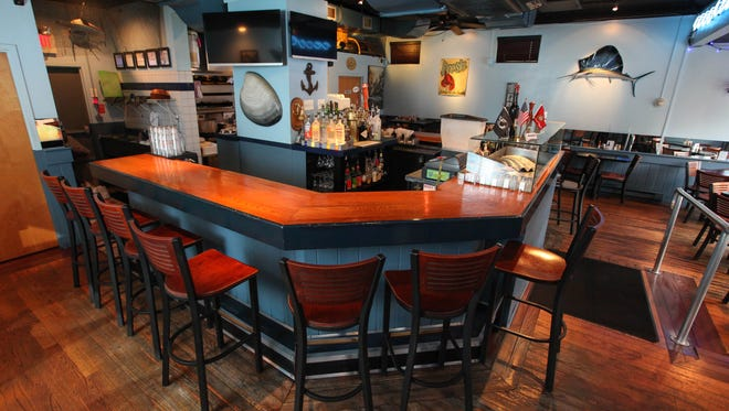 Interior of Vinnie's Clam Bar, located on Somerset Street in  Raritan, NJ, June 1, 2015.  Mary Iuvone/For The Courier News