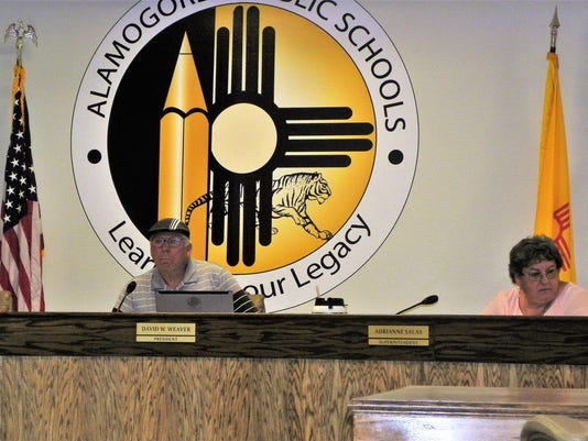 Alamogordo Special School Board Meeting