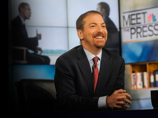 "NBC's ""Meet the Press"" host Chuck Todd is launching a yearlong project covering five counties across the country until the 2020 general election, including Milwaukee County."