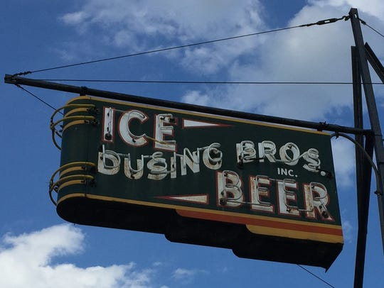 Northern Kentucky landmark Dusing Bros. Ice Manufacturers