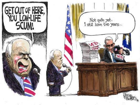 Steve Benson - McCain