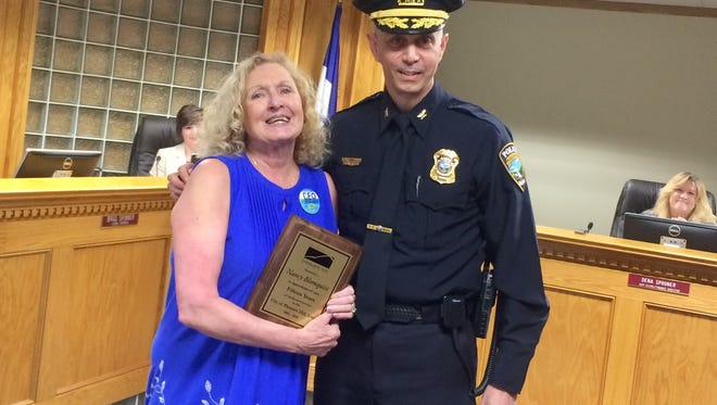Nancy Blomquist, a 15-year administrative assistant for the Pleasant Hill Police Department, retired this month.