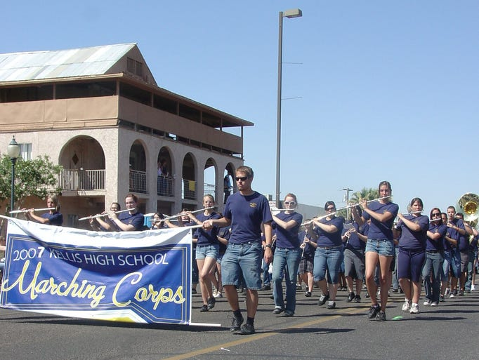 Peoria pioneer day in Old Town Peoria. The parade runs