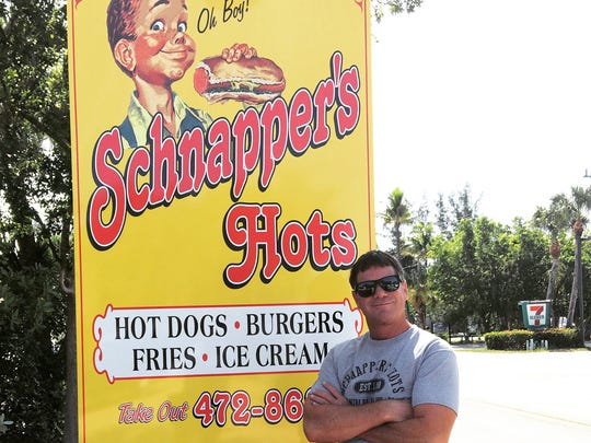 Dave Acheson, the owner of the longtime Schnapper's