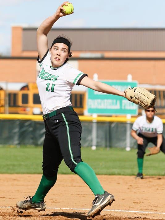 Bishop Ahr South Plainfield softball