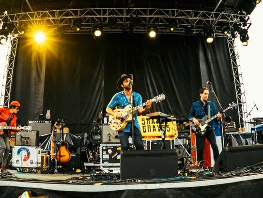 Shakey Graves performing live at the 2017 Hinterland