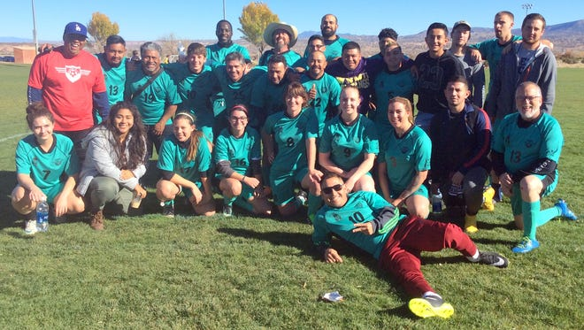 The Silver City Soccer Club took 33 players to participate in the Fall Classic.