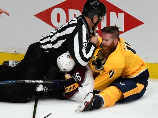NAS-Predators vs Avalanche
