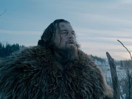 """Leonardo DiCaprio plays Hugh Glass in """"Revanant."""" Though"""
