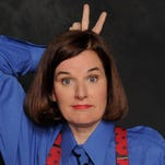 Comedian Paula Poundstone returns to Ithaca on Saturday night.