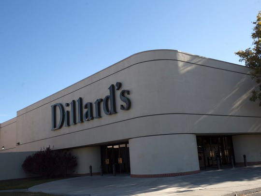 Dillards is pictured, Thursday, Oct. 26, 2017 at the