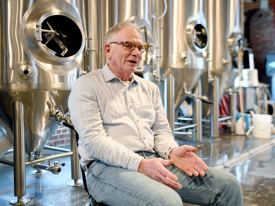 Tim Schaller, owner of The Wedge, talks about the beer