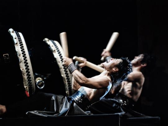 TAO: Drum Heart, internationally acclaimed percussion artists, are coming to the Saenger Theatre in downtown Pensacola on Saturday night.