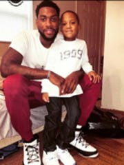 Four-year-old My'Shawn Dawson moved in with his father