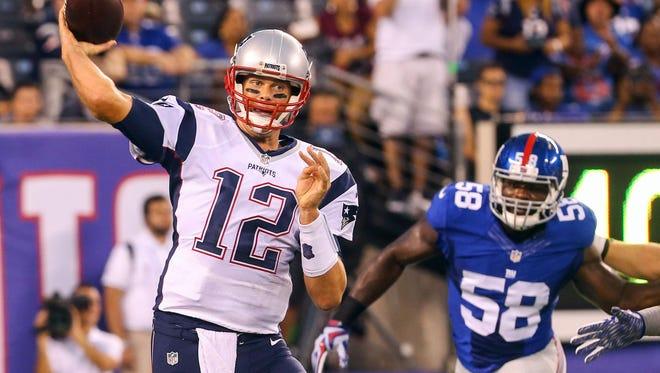Patriots quarterback Tom Brady is a Michigan alumnus.
