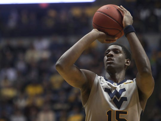 West Virginia's Lamont West (Withrow).