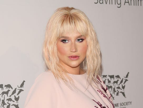 Kesha attends the Humane Society of The United States'