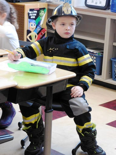 Career Day at Clyde Elementary School on Feb. 9