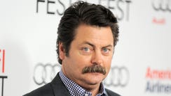 "Nick Offerman of NBC's ""Parks and Recreation"" will"