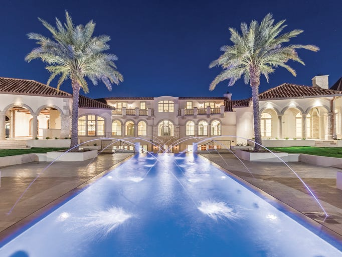This 15,006-square-foot Paradise Valley estate is on